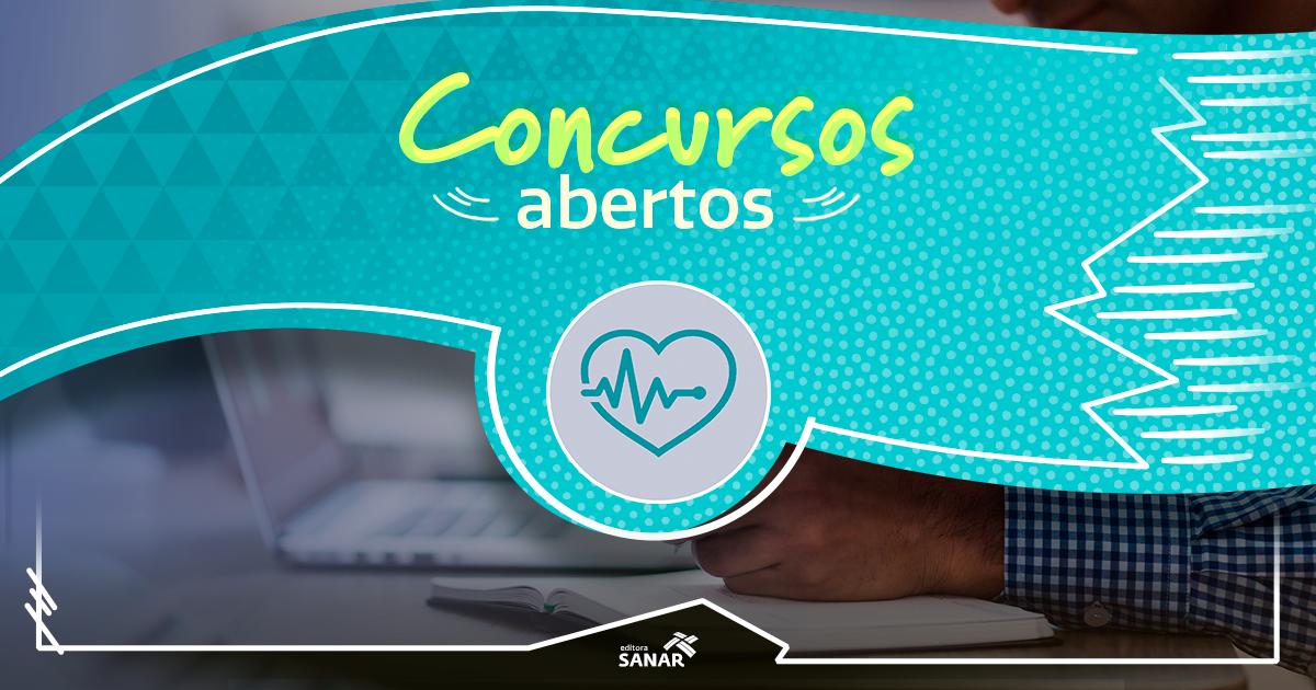 Concursos na área da Saúde 2019  salários de até R  25 mil 11daae83f3